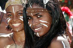 taino girls, carnival Dominican Republic. photographer: www.hotelviewareaÀm, Carnaval en République dominicaine