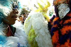 feather men, carnival Dominican Republic. photographer: www.hotelviewareaÀm, Carnaval en République dominicaine