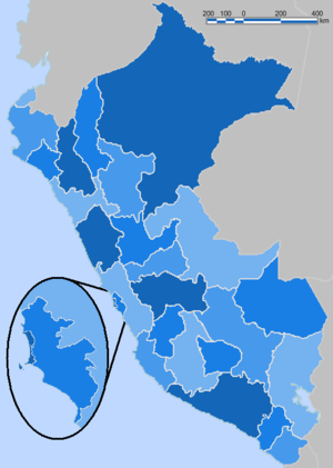 Peru Blue Administrative Base Map.png