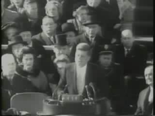 Kennedy inauguration footage.ogg
